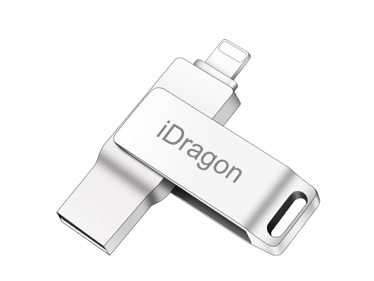 USB & Lightning 2 In 1 Flash Drive