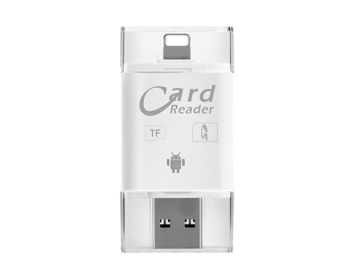 3 In 1 Card Reader